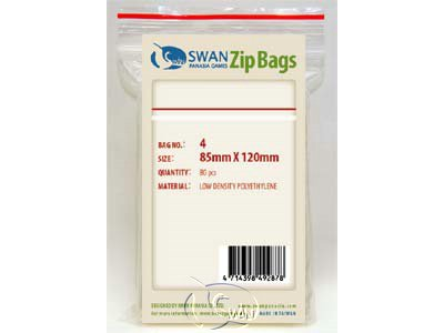 Zip Bag - No.4 / 8.5*12cm(85*120mm)