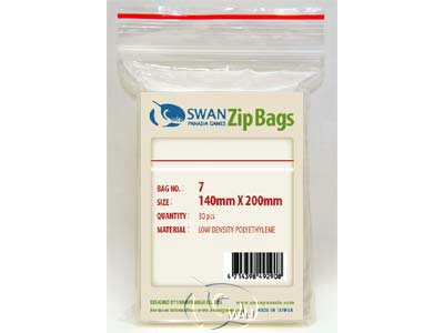 Zip Bag - No.7 / 14*20cm(140*200mm)