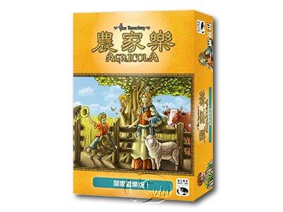 AGRICOLA: FAMILY EDITION-Chinese Language Edition
