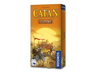 Catan Cities & Knights 5/6 Expansion-Chinese Language Edition