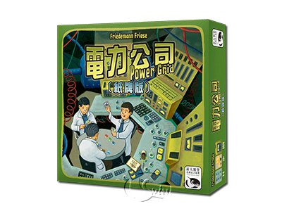 POWER GRID: THE CARD GAME-Chinese Language Edition