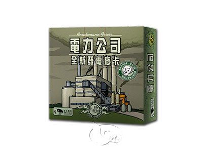 Power Grid: The New Power Plant Cards-Chinese Language Edition