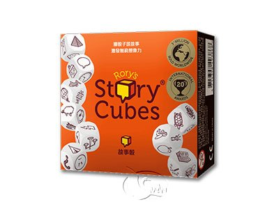 Rory��s Story Cubes Originals - Orange-Chinese Language Edition