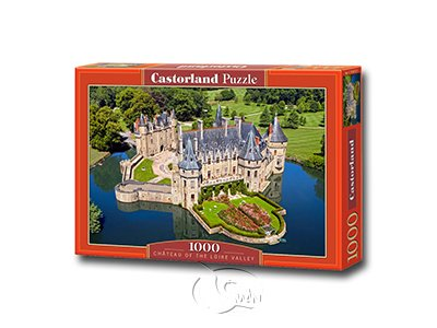 【Castorland拼圖-1000片】羅亞爾河城堡Ch?teau of the Loire Valley