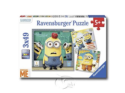 [Puzzle-3X49pcs]Despicable Me
