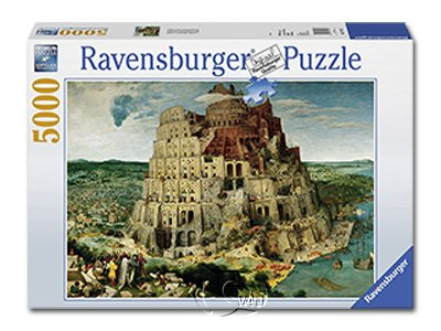 【Ravensburger拼圖-5000片】巴別塔The Tower of Babel